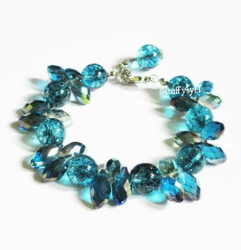 Clearance Teardrops // Gelang Handmade // Gelang Batu Alam // Beaded Bracelet