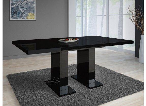Eetkamertafel Glamour is een praktische, moderne tafel die geschikt is ...