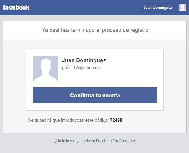 Cómo registrarse en Facebook en Español