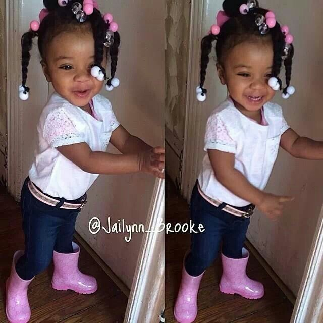 Excellent 1000 Images About Natural Kids Pig Ponytails On Pinterest Short Hairstyles For Black Women Fulllsitofus
