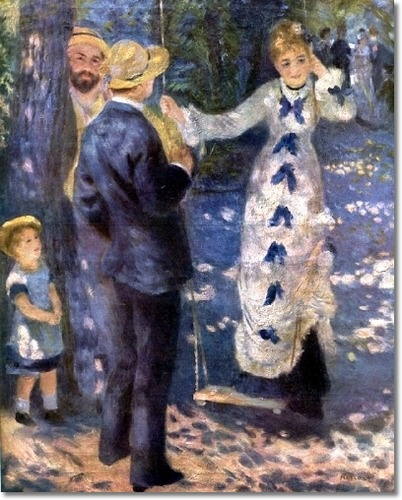 Renoir - The Swing (My favorite of his paintings. SH)