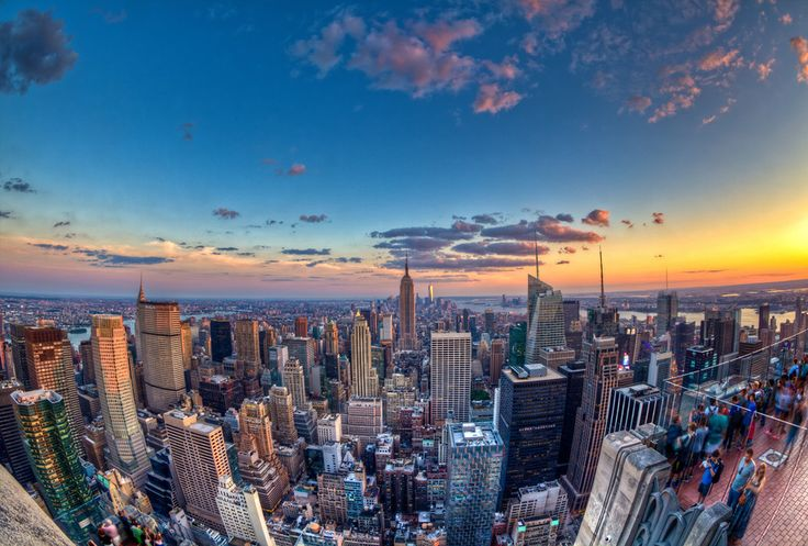 Downtown NYC From Above by Chris Muir on 500px. #HDR #photography #Newyork