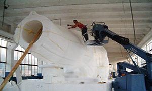 fiberglass statues producer