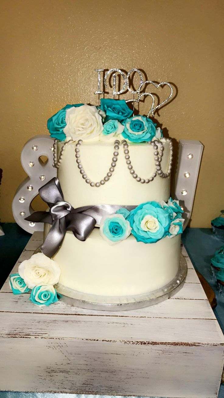 Best 25 Tiffany Blue Cakes Ideas On Pinterest Turquoise