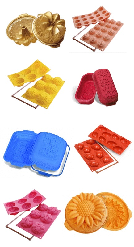 specialty silicone baking molds