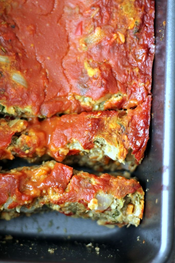 Mom's delicious Ultimate Vegetarian Lentil Loaf - you won't miss the meat in this healthy vegan and gluten free recipe!