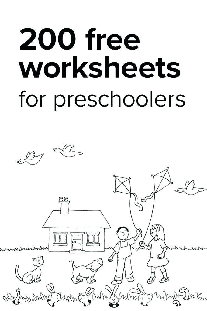 25 Preschool Worksheets Age 3 In 2020 With Images Kindergarten