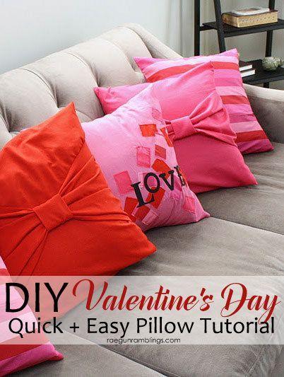Love Pillow Case Tutorial & 99 best inspired \u2022 pillows images on Pinterest | Diy pillows ... pillowsntoast.com