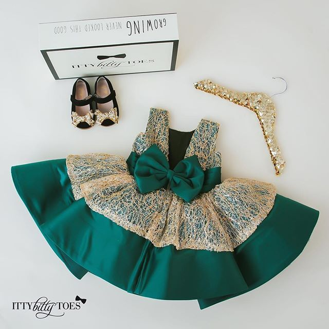 This is IT!  The Holiday Dress you've been searching for - the Charlotte Dress!  ONLY available from ittybittytoes.com  ORDER TODAY! In Stock & Ready to Ship ✈
