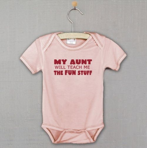 My Aunt Will Teach Me... Bodysuit