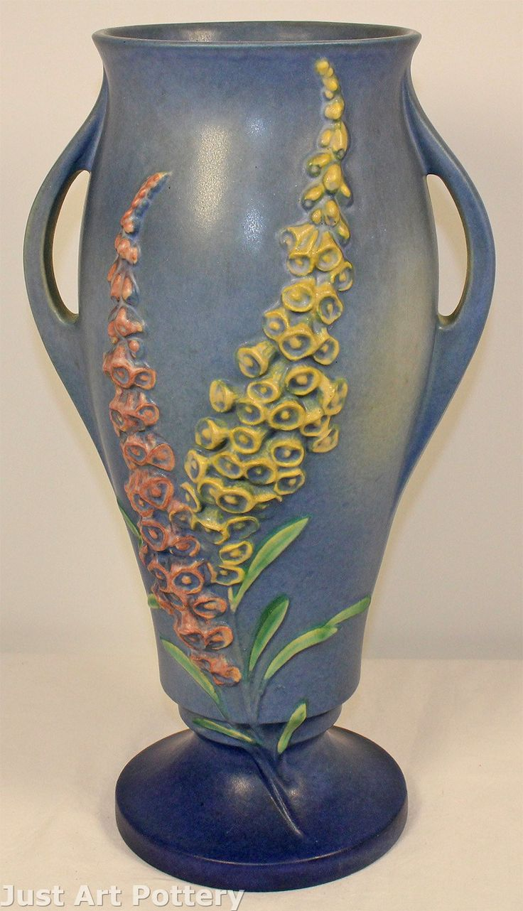 571 Best Images About Van Briggle Weller And Roseville Pottery On Pinterest Apple Blossoms