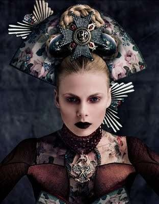Modern Medieval Photoshoots: Norman Cavazzana Rocks Russian Queens for M…
