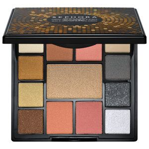 SEPHORA COLLECTION - All Access Glam Gold and Silver Eye and Face Palette #sephora