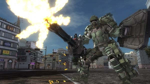 Earth Defense Force 5 first Fencer and Air Raider gameplay