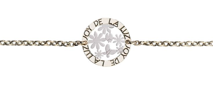 Joy de la Luz   Silver bracelet garden silver  €34,95