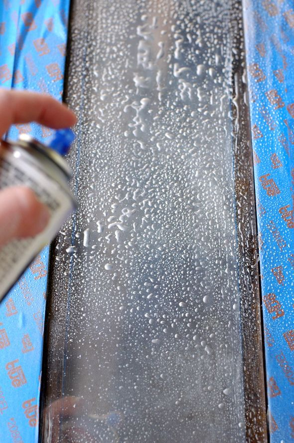 DIY Antiqued Mirror (With No Harsh Chemicals!)
