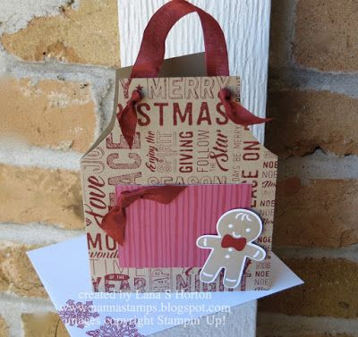 Stampin' with Nanna: Open House/Christmas Party, Project 1 ... and our Party Prize Winners
