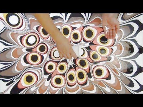 Fluid Painting Presents beloved elk - YouTube