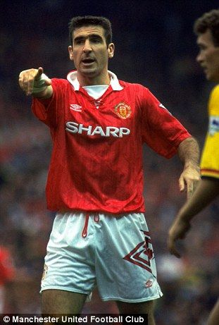 Eric Cantona looking sharp back in 1993
