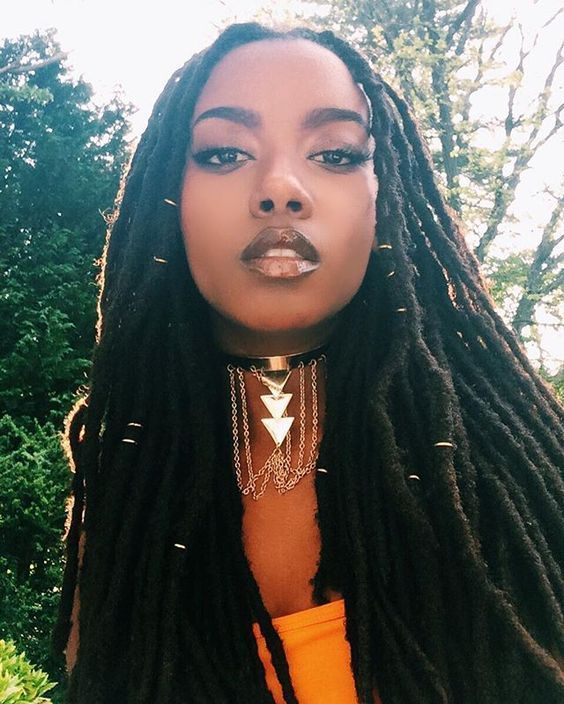 To get to black women dreadlocks hairstyles 2017 you should have some significant length. On its base your stylist will start the process.