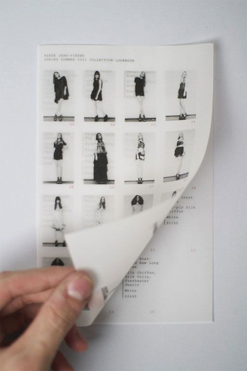 Joseph Veazey: Azede Jean-Pierre S/S 2011 Lookbook | Design Work Life