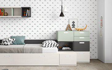 El Mejor Mueble Infantil Y Juvenil Habitaciones Para