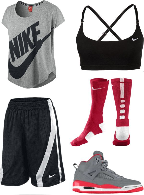 """Basketball practice"" by esther-chen-1 on Polyvore"