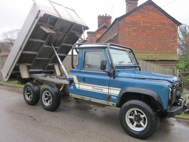 Land Rover 150 6x6/6x4 200TDI Tipper | eBay
