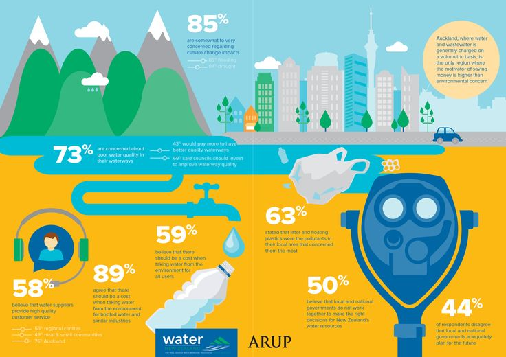The New Zealand Water Consumer Survey Report is an independent report by Arup examining what Kiwis think about critical issues associated with water.  www.waternz.org.nz/watersurvey
