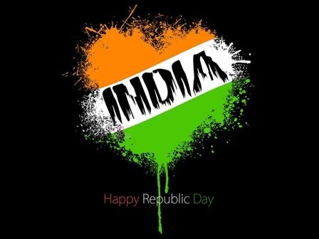 Advance 67th Republic Day of India 2015 Facebook Timeline Cover Whatsapp DP