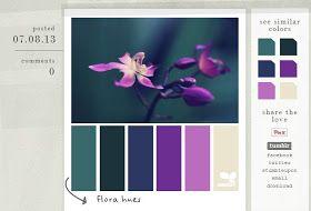 Kukuruku - Shop: Barevná schémata aneb jak ladit barvy