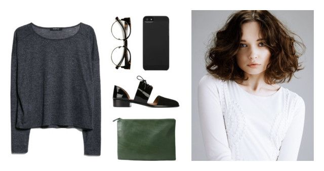 #50 by eight2 on Polyvore featuring polyvore, fashion, style, MANGO, Emporio Armani, Forever 21, Incase and INDIE HAIR