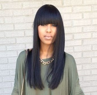 Cool 1000 Ideas About Chinese Bangs On Pinterest Bangs Lace Wigs Short Hairstyles Gunalazisus