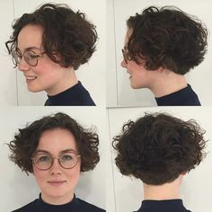 Short+Curly+Brown+Bob
