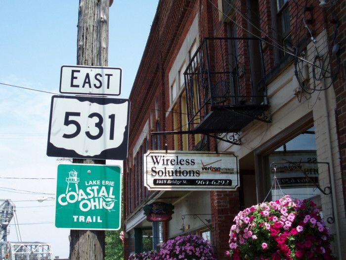 5. Lake Erie Coastal Ohio Trail (the U.S.Hwy 50/SR 531 trip)