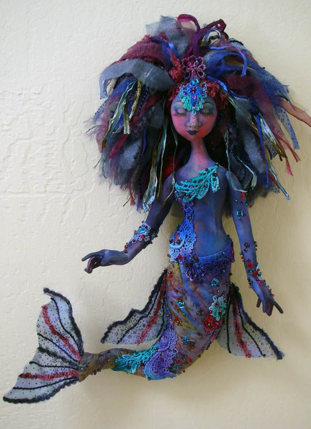 Arley's Mermaid by Tami of Lemon Tree Tales. Isn't she fantastic!