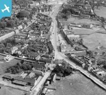 Lynn Street and the town centre, Swaffham, 1928