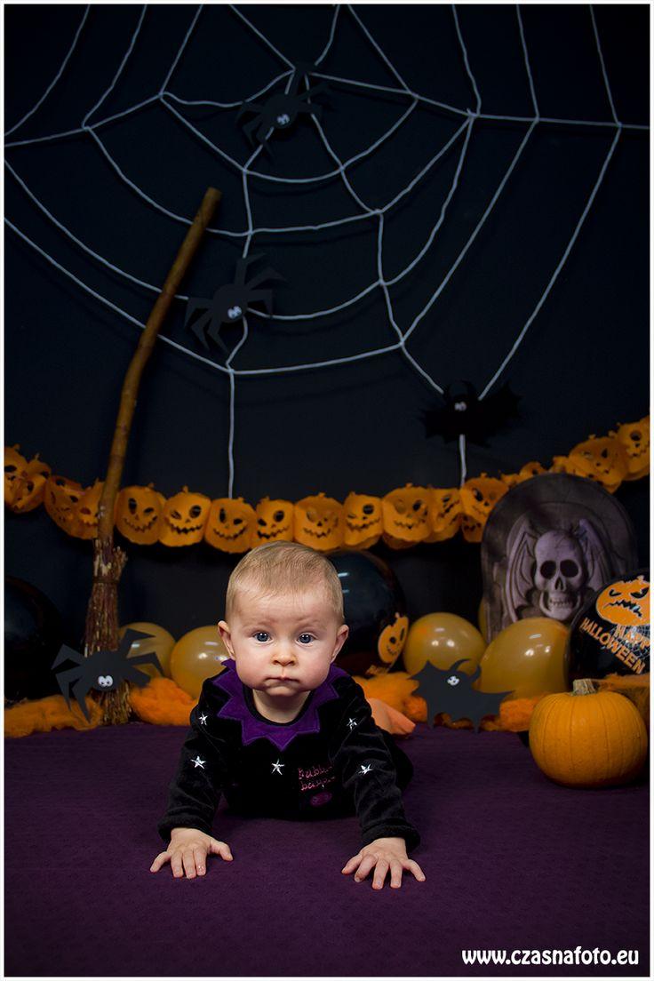 Halloween session - 7 month Gabriela/ Sesja halloweenowa - 7 miesięczna Gabriela