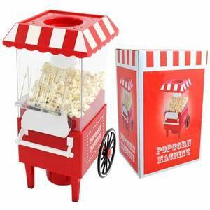 MACHINE À POP-CORN Machine à pop-corn, cadeau insolite