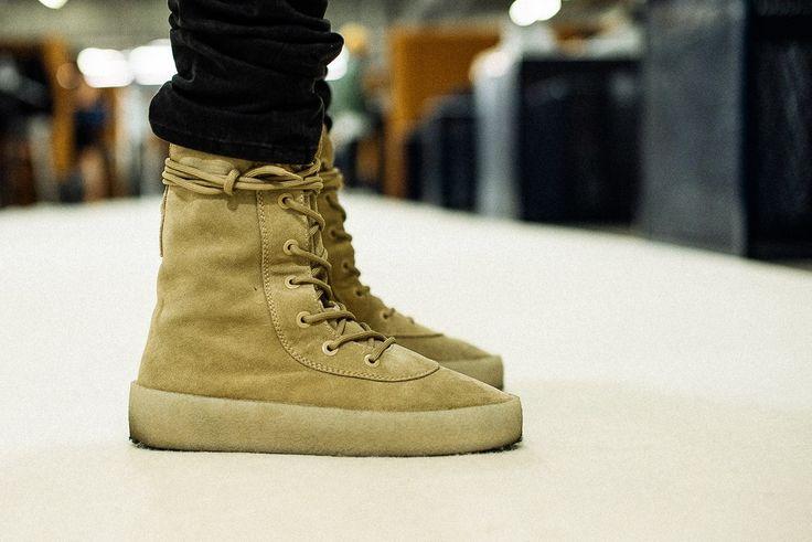 Yeezy Season 2 Crepe Boot