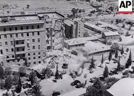 King David Hotel-  bomb blast