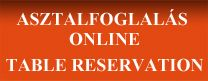 Table reservation - Online!