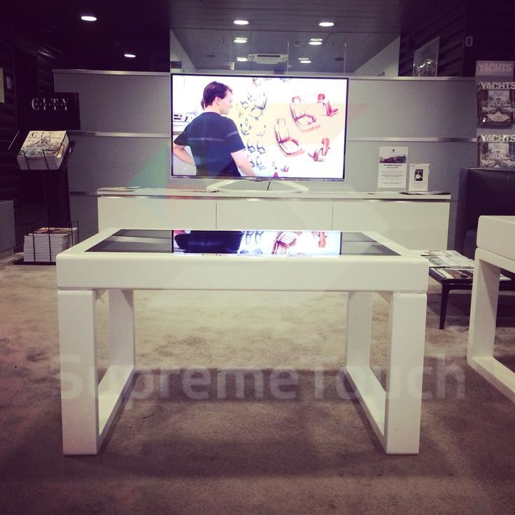 #multitouch coffee table #corian #multitouchtable