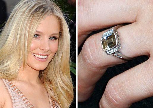 Kristen Bell Neil Lane Engagement Ring Engagement Rings