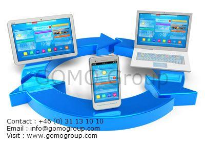 GOMO Group är ledande i Sverige inom utveckling av mobila webbplatser. GOMO tillhandahåller tjänster inom responsive design och mobila webbplatser. Vi stödjer även digitala strategier och marknadsföring .