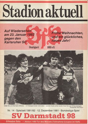 BL 81/82 VfB Stuttgart - SV Darmstadt 98