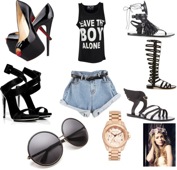 """we dont need a summer romance"" by babycakes250 on Polyvore"