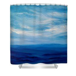 Daydream Shower Curtain by Amber Tattersall