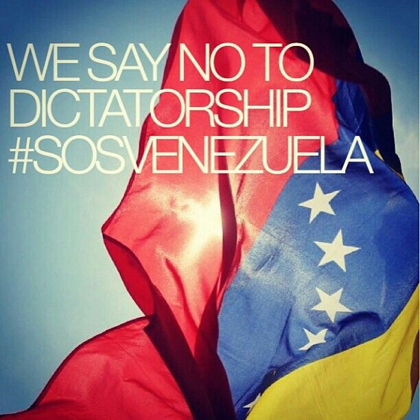 Venezuela is fighting against becoming a dictatorship. Many of the citizens are reaching out for other countries to help fight for them. They need help to save their beautiful lands from becoming a battleground.