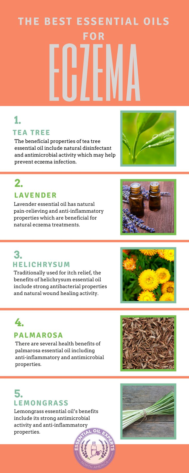 Best Essential Oils for Eczema - Treating Eczema Naturally